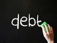 erase credit card debt